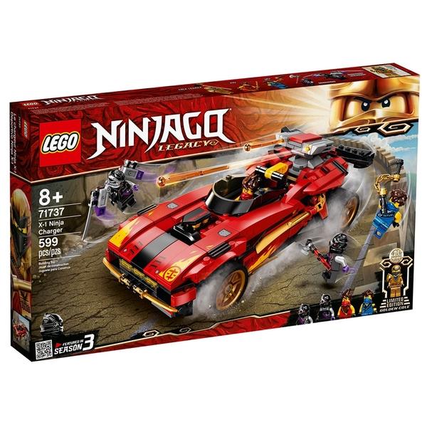 LEGO樂高 Ninjago忍者系列 X-1 忍者電極跑車_LG71737
