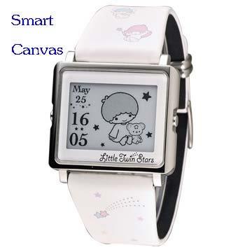 Smart Canvas – Kikilala Rainbow 雙星仙子 (銀) 療癒系腕錶