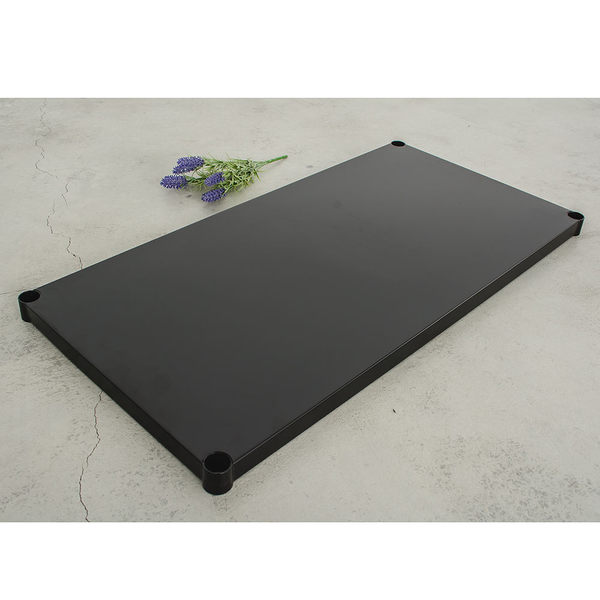 收納架/置物架/層架配件【配件類】90x45cm 極致工藝烤漆黑鐵板  dayneeds