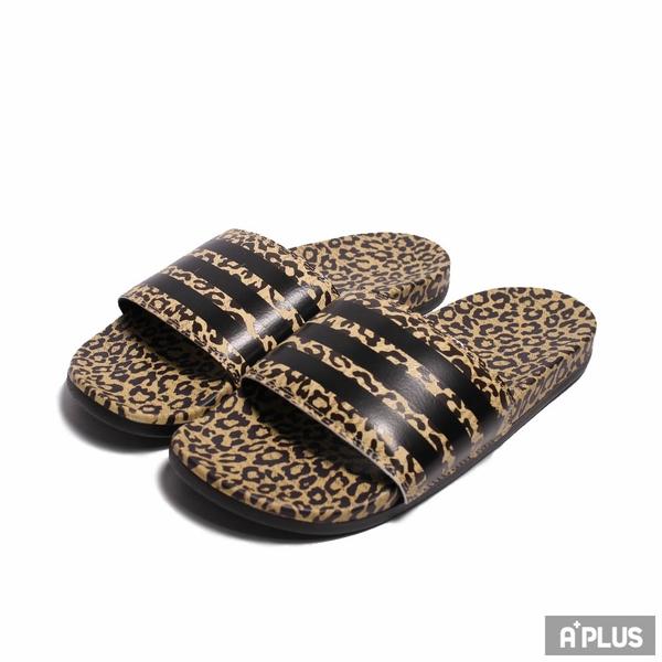 ADIDAS 拖鞋 ADILETTE COMFORT 豹紋-FZ4876