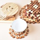 6個竹隔熱墊餐桌墊竹墊子 家用碗墊桌墊鍋墊防燙墊盤墊杯墊砂鍋墊 森活雜貨