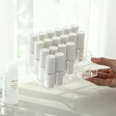 化妝品護膚品收納盒口紅收納整理盒塑料桌面口紅架【雲木雜貨】