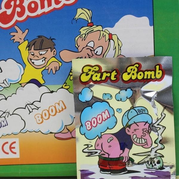 整人放屁包 BOOM爆破包/一盒100個入(定5) 整人系列-YF11572