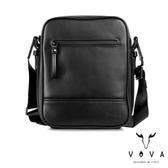 【VOVA】  公爵系列職人直式斜背包(貴族黑)VA120S01BK