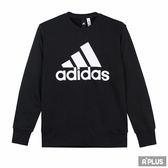 Adidas 男 ESS BIGLOG CREW  圓領T(長)- CD6275