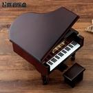 音樂盒刻字鋼琴音樂盒照片八音盒木質·樂享...
