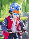 店長推薦洛克兄弟兒童騎行頭盔童車輪滑男女小孩寶寶卡通半盔自行車安全帽