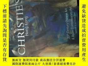 二手書博民逛書店CHRISTIE S罕見Hong Kong(20 th Cent
