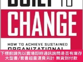 二手書博民逛書店預訂Built罕見To Change: How To Achieve Sustained Organization