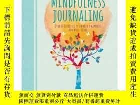 二手書博民逛書店Mindfulness罕見Journaling: Over 60