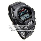 G-SHOCK 卡西歐 G-6900-1 電子錶 太陽能 黑色橡膠 53mm 男錶 時間玩家 CASIO G-6900-1DR