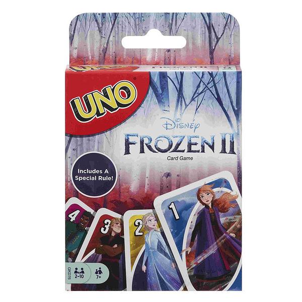 『高雄龐奇桌遊』UNO 冰雪奇緣2 遊戲卡 MATTEL 正版桌上遊戲專賣店