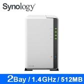 【Synology 群暉】DS220j  網路儲存伺服器(不含硬碟)