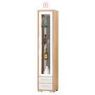 【森可家居】明日香1.3尺雙面櫃 7ZX474-3 展示 客廳收納 窄細長型 木紋質感 北歐風