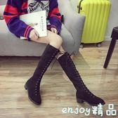 長靴女過膝秋冬中跟長筒靴