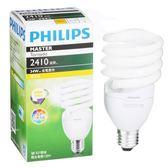 Philips 飛利浦 T2 螺旋省電燈泡34W黃光【愛買】