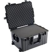美國 PELICAN 1607 Air Case 派力肯 塘鵝 輪座拉桿超輕氣密箱-含泡棉 黑色 輕量版 公司貨