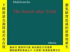 二手書博民逛書店The罕見Search After TruthY255562 Nicolas Malebranche Camb