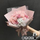 香皂花 香皂花束diy皂花禮盒送女友女神情人走心母親節創意畢業禮物花束 - 都市時尚