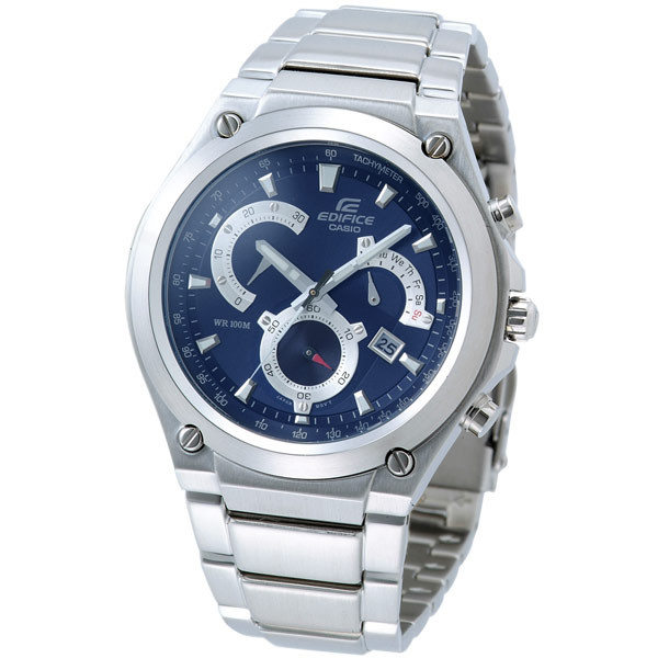 Casio 個性賽車扇型計時腕錶-EF-525D-2AVDF