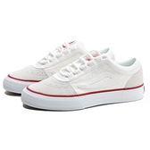 FILA 米白 麂皮 紅 滑板鞋 休閒鞋 老爹鞋 情侶款 男女 (布魯克林) 4C331U115