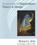 二手書博民逛書店《Essentials of Organization Theory & Design》 R2Y ISBN:032402097X