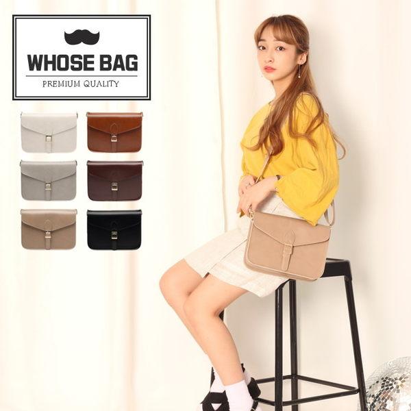 【WHOSE BAG】韓國嚴選M-letter皮革斜背包 NO.LM203