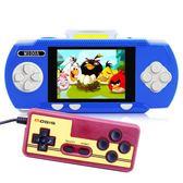 魔迪M100A游戲機掌機懷舊psp插卡游戲機兒童游戲機雙人對戰游戲   薔薇時尚