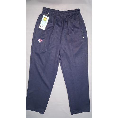 亞曼尼台灣製造工作運動褲(藍色)