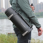 保溫壺 保溫壺超大容量男便攜戶外水杯子5000ml大號旅行車載瓶熱水壺4升5 【618 大促】