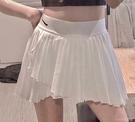 網球裙nk百褶裙打底褲防走光半身裙休閒運動風百褶網球短裙 快速出貨
