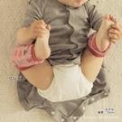 台灣現貨童裝 保暖襪套 棉質粉底蘑菇長襪套/保暖/學爬必備【A44】