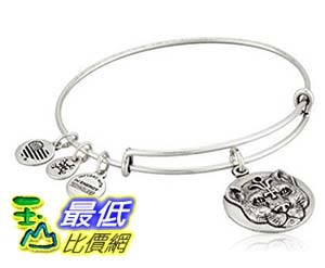 [美國直購]  Alex and Ani Wild Heart Expandable Rafaelian Bangle Bracelet 手鐲