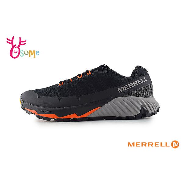 MERRELL 成人男款 GTX防水速乾 黃金大底 登山越野運動鞋_ML16605 H8390#黑橘◆OSOME奧森鞋業