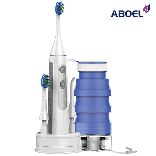 Buy917 【ABOEL】 全能潔牙神器 可攜型電動牙刷沖牙機 (ABB880)