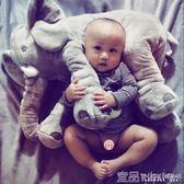 毛絨玩偶大象毛絨玩具抱枕公仔超萌韓國搞怪可愛女生睡覺抱的娃娃玩偶女孩Igo免運
