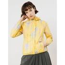 【南紡購物中心】【TRAVELER旅行者】女款雙機能防水自體收納外套-黃色