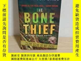 二手書博民逛書店The罕見Bone Thief:A Body Farm Novel【英文原版,by Jefferson Bass】