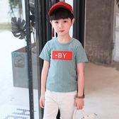男童上衣 男童兒童男孩夏裝半袖短袖t恤體恤純棉中大童韓版上衣潮8 新品特賣