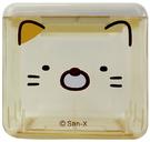 角落小夥伴 角落生物 方形三孔置物盒 貓咪 SG53891C