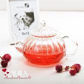 玻璃茶壺家用手工耐熱玻璃茶具南瓜壺套裝 全店88折特惠