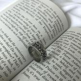 MALE SHOP正韓戒指男士鈦鋼食指環男單身戒子飾品配飾尾戒可轉動 萬聖節禮物