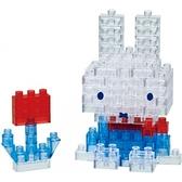 《Nano Block迷你積木》NBCC_087 米菲兔 65周年(荷蘭花紋) / JOYBUS玩具百貨