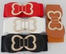 得來福,H238腰封金屬蝴蝶對扣鬆緊寬腰封腰帶皮帶,售價180元