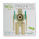 美國《Tegu》磁性積木9件組- Future Magbot 機器人