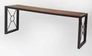 【南洋風休閒傢俱】戶外休閒桌椅系列 -4尺塑木長板凳 無背公園椅 戶外庭院椅(S13111)