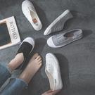 大碼運動鞋 帆布鞋平底懶人鞋小白鞋41-43大碼40-42百搭