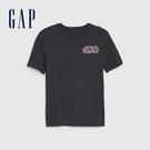 Gap男童星際大戰螢光短袖T恤573676-深藍灰色