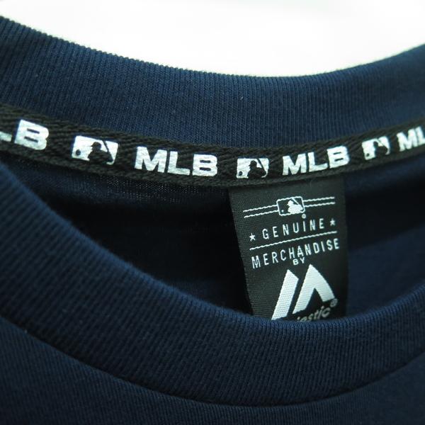 MLB 創信代理 紐約洋基隊 JUDGE 法官 深藍背號T恤 正貨 6730299580 男款【iSport愛運動】