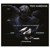 【停看聽音響唱片】【CD】李斯特/舒曼/荀白克 多樣的夜 卡列妮娜三重奏